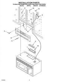 Microwaves That Mount Under A Cabinet by Whirlpool Under Cabinet Microwave