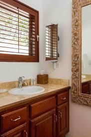 Guest Bathroom Vanity by Coconut Palm Villa Guest Bathroom Shower Twin Palms Villas