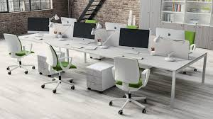 White Desk Chairs With Wheels Design Ideas Office Furniture Modern Design Modern Office Furniture Design