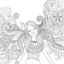 coloring book listen listen to coloring book stock vector image