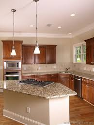 Best  Cherry Wood Kitchens Ideas On Pinterest Cherry Wood - Kitchen cabinets colors and designs