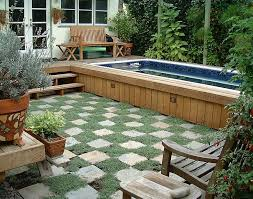 Small Garden Pool Ideas Small Backyard Pool Crafts Home