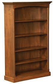 amish furniture hand crafted solid wood bookcases amish traditions