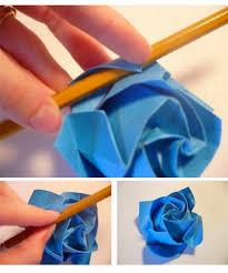 cara membuat bunga dari lipatan kertas 7 cara membuat origami beserta gambarnya seni melipat kertas