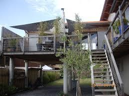 terrasse suspendue en bois location vacances maison la teste de buch vue d u0027ensemble sur