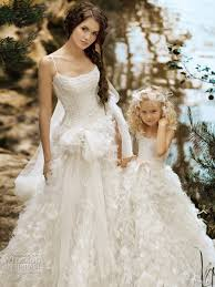 matching wedding dresses matching flower dresses to bridal gowns the magazine