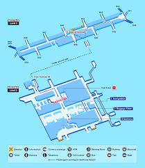 London Airports Map Guide For Facilities In London Heathrow Airportairport Guide