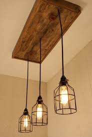 Pinterest Chandeliers Cage Light Chandelier Cage Lighting Edison By Bornagainwoodworks