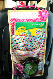 Book Storage Kids Travel Book Storage Pockets For The Car Free Sewing Tutorial By