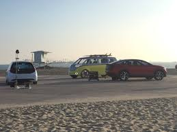 new volkswagen bus 2017 3 new volkswagen evs car suv u0026 hippie van on long beach beach