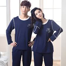 2017 new autumn winter couples underwear clothing clothes for