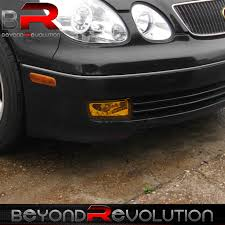 lexus sedan jdm 98 05 lexus gs300 v300 aristo jdm yellow lens front bumper lower
