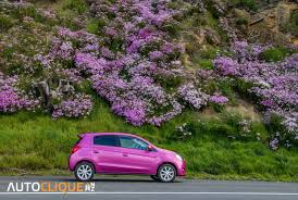 mitsubishi purple mitsubishi mirage car review 20k challenge drive life drive
