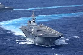 Flag Carrier Of Japan List Of Active Japan Maritime Self Defense Force Ships Wikipedia