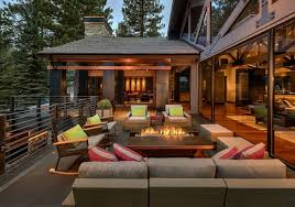 covered outdoor seating lake tahoe home embrace style with your outdoor living spaces