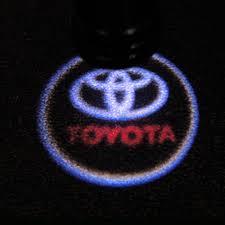 logo de toyota luz de cortesia o proyector led de logo toyota para puerta masluz