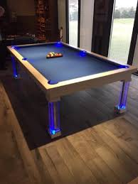 Dining Room Convertible Pool Tables By Generation Chic Pool - Pool dining room table