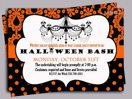 crafty in crosby halloween party invitations with template cards
