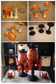 Easy Home Decorating Projects Fall Candy Corn Jars Jar Table Decorations And Diy Ideas