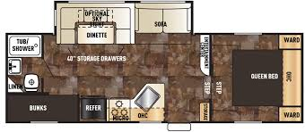 cherokee fifth wheels trailer floor plans access rv