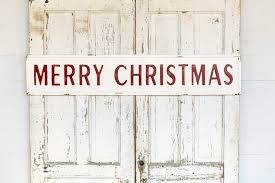 merry christmas signs vintage embossed metal merry christmas sign farmhouse fresh home