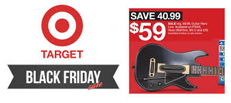 guitar black friday target u0027s 2015 black friday ad brings deals on tech and toys
