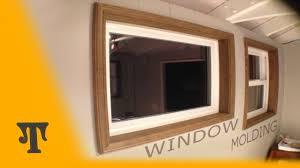 Interior Window Trims How To Install Interior Window Trim Youtube