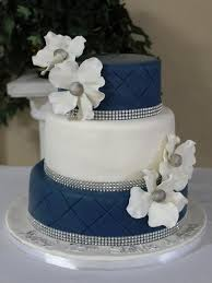 cobalt and wedding cakes google search wedding