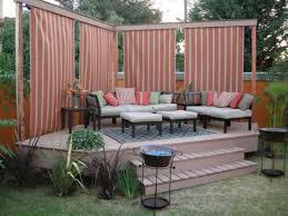 outdoor privacy deck with awesome look attractive privacy ideas