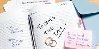 wedding planning journal hiring a wedding planner