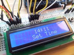 fritzing projects arduino display temperature and knock detected
