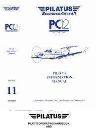pilatus pc 12 pilot s information manual stall fluid mechanics