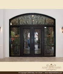 Custom Size Exterior Doors Custom Entry Doors Door Made Wrought Iron Exterior Design