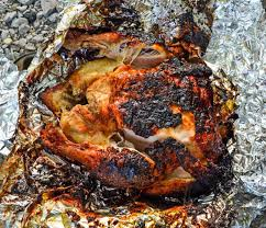 roasted whole chicken how to make a roasted chicken over a cfire recipe