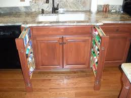 Pull Out Spice Rack Cabinet by Kitchen Cabinet Spice Rack Hbe Kitchen