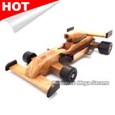mobil balap f1 jual miniatur mobil balap formula 1 kayu 22x6x12 cm modemku mega
