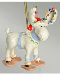 savings are here 13 lenox annual moose ornaments no box