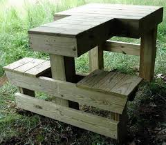Simple Wood Bench Instructions by Shooting Bench Plans Shooting Bench Plans Shooting Bench And