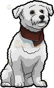 bichon frise cartoon an adorable bichon frise dog with big ben and house of parliament