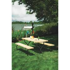 Lifetime Folding Picnic Table Assembly Instructions by Jack Post Fiesta Charm Picnic Table Frame Only Fc 30 Do It Best
