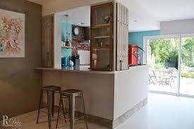 cuisine avec bar ouvert sur salon modele cuisine ouverte avec bar affordable cuisine americaine avec