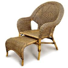 steamer chair with footrest cobra cane