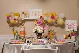 wedding shower centerpieces pineapple themed bridal shower