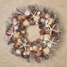 seashell wreath bali chic seashell wreath
