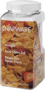 amazon com snapware 1098534 15 cup air tight canister large