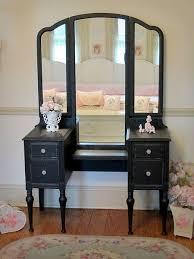 Bedroom Vanities With Mirrors Best 25 Black Vanity Table Ideas On Pinterest Black Makeup