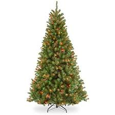 national tree 7 5 foot valley spruce hinged tree