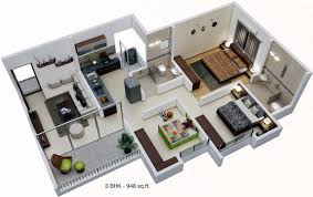 Google Sketchup Floor Plan by Artharaj Hillock Towers By Artharaj Realty In Talegaon Dabhade