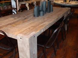 oak wood dining table distressed oak dining table dining room ideas