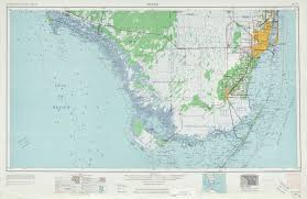 Topographic Map Of The United States by Miami Topographic Map Sheet United States 1962 Full Size